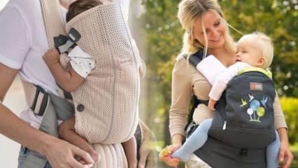 Bebeklerde kanguru kaç aylıkken kullanılmalı? Kız ve erkek bebeklerde kanguru kullanımı