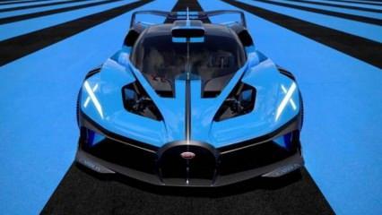Bugatti Bolide tanıtıldı