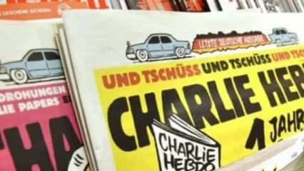 Charlie Hebdo karikatürünü sınıfta gösterince açığa alındı