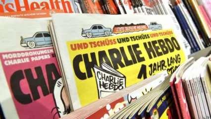 Charlie Hebdo'nun ahlaksız karikatürüne Türkiye'den çok sert tepki!