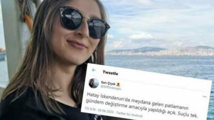 CHP'li başkan yardımcısından Hatay'la ilgili skandal paylaşım