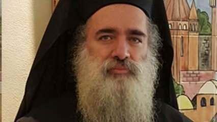 Doğu Kudüs'teki Ortodoks Başpiskoposu'ndan Müslümanlara yönelik hakaretlere tepki