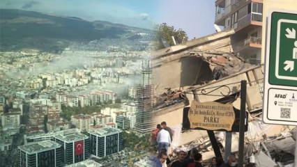 İzmir'deki depremden görüntüler: İşte 30 Ekim 6.6 şiddetine dayanamayıp yıkılan binalar!