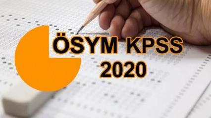 KPSS önlisans sonuçları tarihi: ÖSYM 2020 KPSS önlisans sınav sonuçlarını ne zaman açıklayacak?