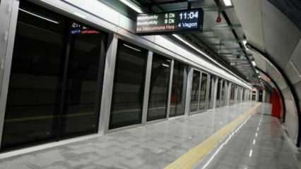 Mecidiyeköy-Mahmutbey metro hattı açılıyor