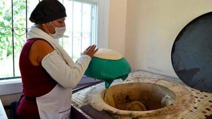 Mersin'de kadınlar tandır evleriyle aile bütçesine katkı sağlıyor!