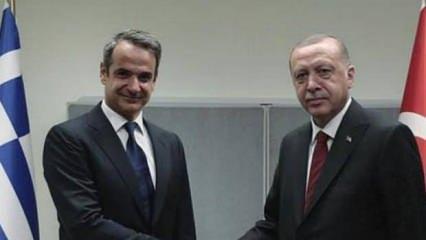 Miçotakis'in paylaşımına Başkan Erdoğan'dan cevap