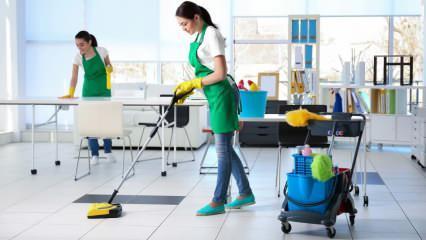 En pratik ofis temizliği nasıl yapılır ve nasıl dezenfekte edilir?