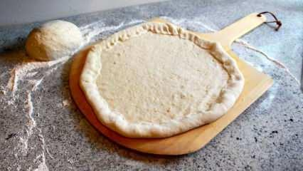 Pizza hamuru nasıl yapılır? Orjinal pizza hamuru yapmanın püf noktası