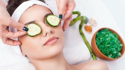 Salatalığın cilde faydaları nelerdir? Evde salatalık maskesi ne işe yarar?