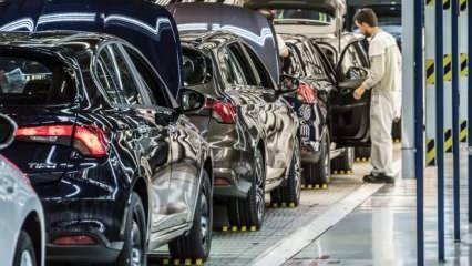 Otomobil ve hafif ticari araç satışları yüzde 132,4 arttı