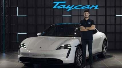 Porsche Taycan'ın tam elektrikli modeli Türkiye'de