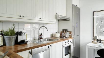 5-6-7 metrekarelik mutfak dekorasyonu önerileri
