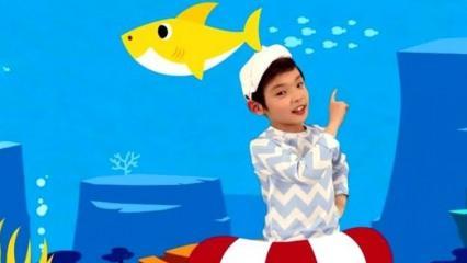 Baby Shark şarkısı 7 milyarı geçti, en çok izlenen video oldu