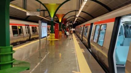 İstanbul'da metro seferlerinde aksama!