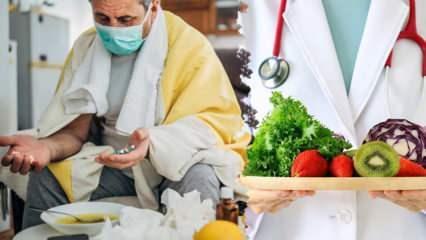 Kovid-19 testi pozitif olanlar nasıl beslenmelidir? Virüslere karşı bağışıklığı güçlendirme