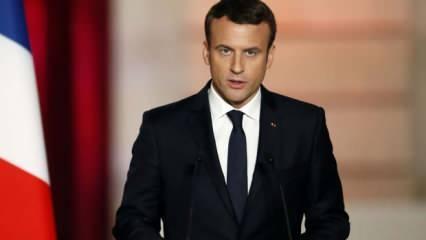 Macron Fransa'yı karıştırıyor! Türklere ırkçı saldırı