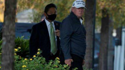 Trump yenilginin ardından Beyaz Saray'da ilk kez görüntülendi