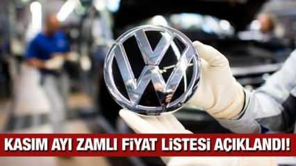 Volkswagen sıfır araç fiyatlarına zam yaptı! İşte Kasım ayı Passat, Golf, Polo, yeni fiyatları