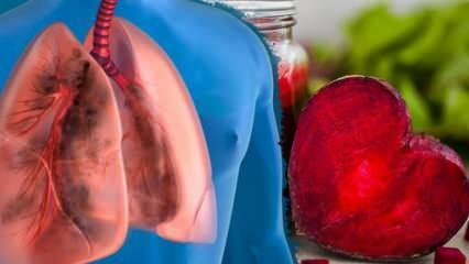 Akciğerleri tertemiz yapan besinler nelerdir? Akciğere yerleşmiş tüm virüslerin baş düşmanları