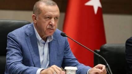 Cumhurbaşkanı Erdoğan'dan Adana, Giresun ve Altay'a tebrik