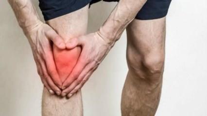 Diz ağrısı neden olur? Çömelince artan diz kapağı ağrısının sebepleri nelerdir?