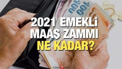 Emekli Ocak maaş zammı ne kadar olacak? En düşük 2021 Bağ-Kur SSK ve memur emekli maaş zammı