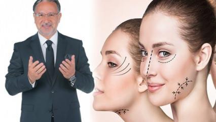 Estetik yaptırmak günah mı? Botoks ve burun estetiği caiz mi? İslamiyetin estetiğe bakış açısı
