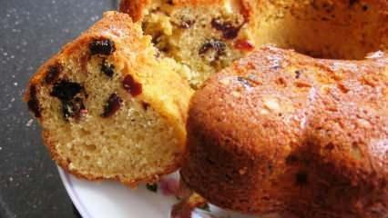 En kolay üzümlü kek nasıl yapılır? Kuru üzümlü kek tarifi