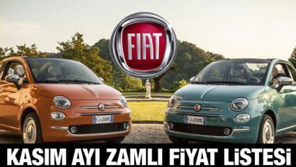 Fiat Kasım ayı zamlı yeni fiyat listesi: Sıfır Fiat Egea, Doblo, 500, Fiorino güncel fiyatları