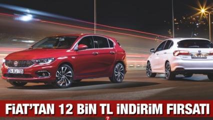 Fiat'tan 12 bin TL indirim: 2020 Fiat Egea Doblo Fiorino 500 güncel fiyat listesi