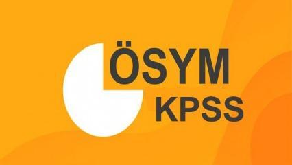 KPSS ortaöğretim sınav yeri sorgulama|2020 KPSS Lise sınav giriş belgesi nereden öğrenilir?