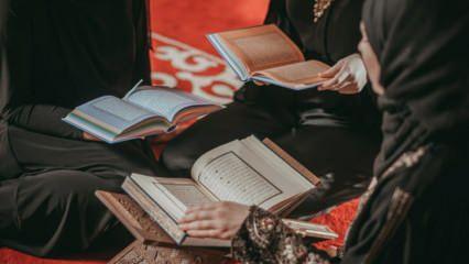 Kuranı hızlı okumak doğru mu? Kuran-ı Kerimi okuma adabı