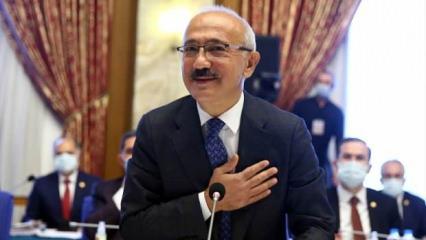 Muhalefet partilerinden Bakan Elvan'a övgü
