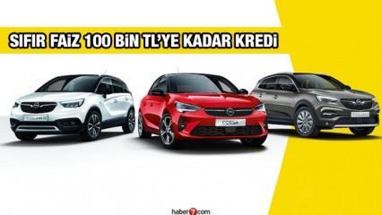 Opel'den 0,89 faiz oranları ile 50 bin TL kredi teklifi! Corsa Insıgnia Astra fiyatları
