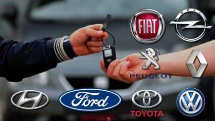 Sahibinden en çok satılan ikinci el araç modelleri belli oldu! İkinci el araba satış rakamları