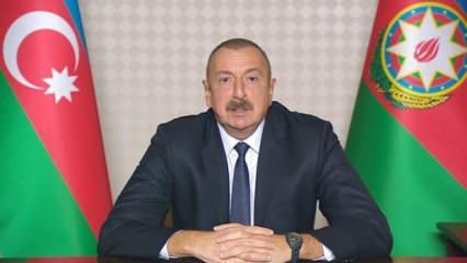 Son dakika: Azerbaycan Cumhurbaşkanı Aliyev anlaşma maddelerini açıkladı