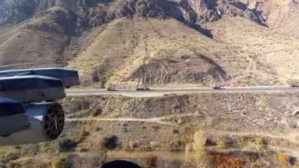 Rusya Dağlık Karabağ'a giriş yaptı, devriyeler başladı