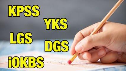 2021 LGS YKS KPSS İOKBS ve DGS sınavları ertelenecek mi?  Sınavlarla ilgili beklenen açıklama..