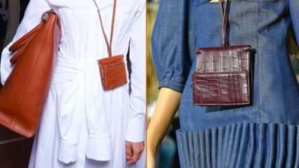 """2021 Trend alarmı: """"Kolye çanta"""" modası başlıyor"""