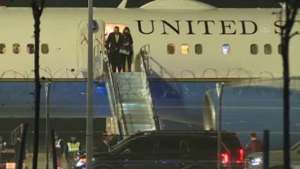 ABD Dışişleri Bakanı Pompeo İstanbul'a geldi