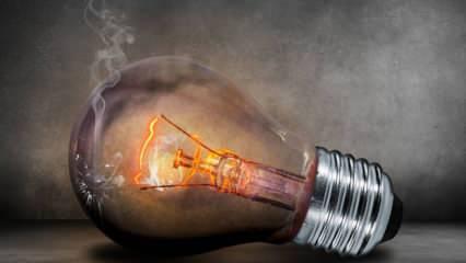 Ampül neden patlar ve neden yanar? Lambalar değiştirilirken dikkat edilmesi gerekenler nelerdir