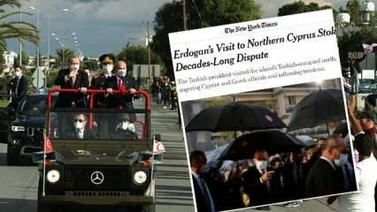 Başkan Erdoğan'ın ziyareti ile ilgili New York Times'tan skandal ifadeler