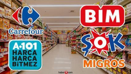A101 ŞOK BİM Carrefour Migros yarın kapalı mı? Marketlerin yeni çalışma saatleri!