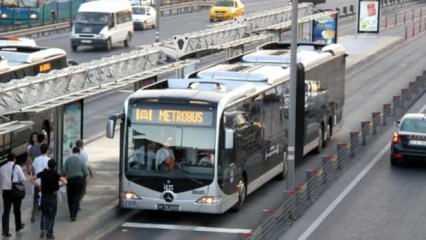 Hafta sonu toplu taşıma metrobüs, otobüs, vapur, tramvay ve metrolar çalışacak mı?