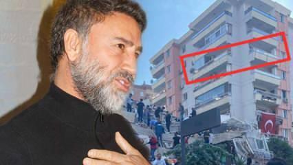 İzmir'e taşınan İzzet Yıldızhan'ın depremde yan binası yıkıldı!