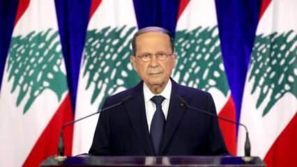 Lübnan Cumhurbaşkan'ndan İsrail ile normalleşme açıklaması