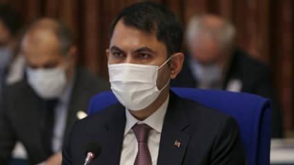 Murat Kurum'dan Kanal İstanbul açıklaması