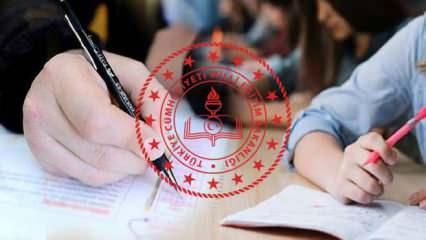 Okul sınavları ertelendi mi? MEB Bakanı Selçuk açıkladı: Okul sınavları uzaktan ve yüz yüze...
