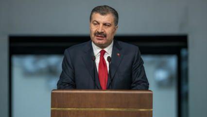 Sağlık Bakanı Fahrettin Koca'dan önemli aşı açıklaması!